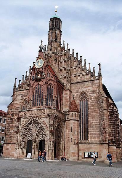 紐倫堡 聖母教堂