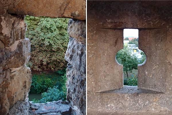 羅騰堡古城牆口