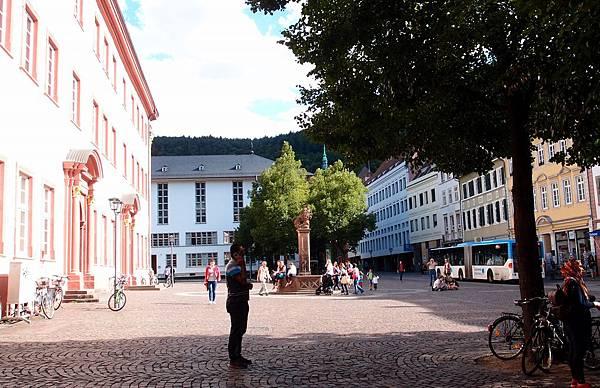 海德堡 大學廣場