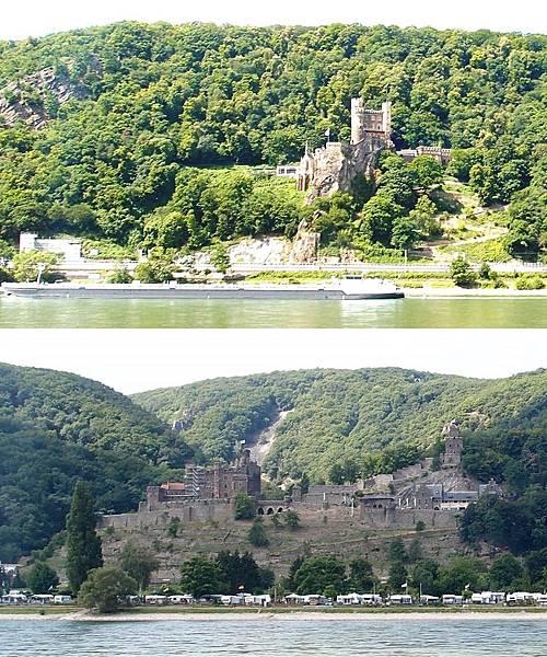 萊茵河古堡