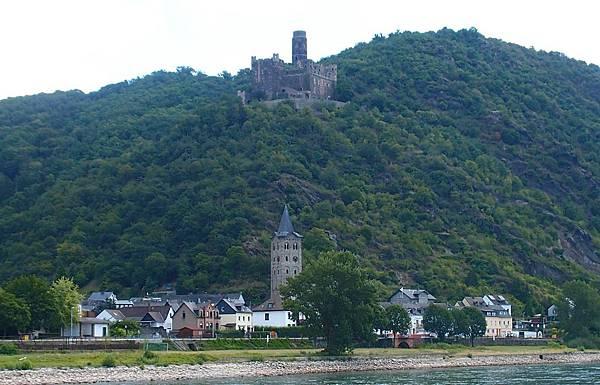 萊茵河遊船 貓堡
