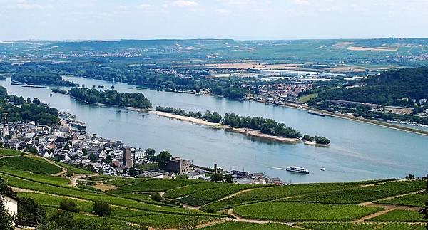 登高望上中萊茵河谷區