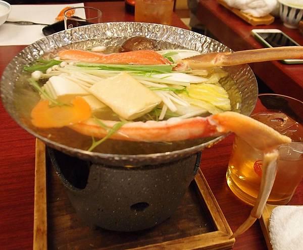 螃蟹會席料理