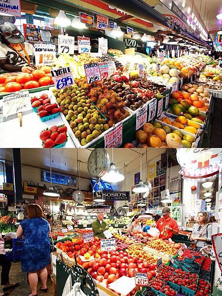 派克市場  水果