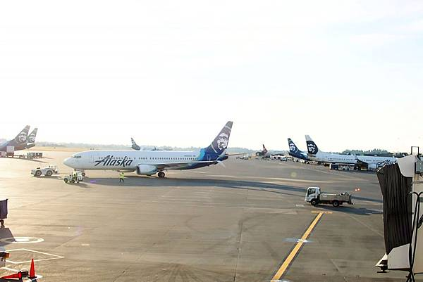 7 .7a西雅圖機場