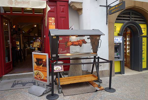 布拉格廣場 小巷餐館