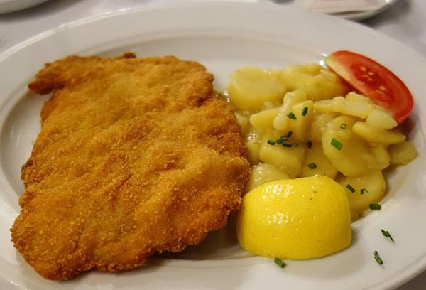 奧地利黃金炸豬排