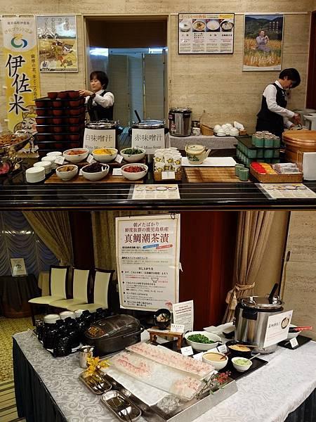 城山觀光飯店 朝食 和食
