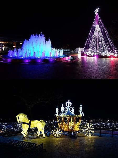 城山觀光飯店 燈光秀