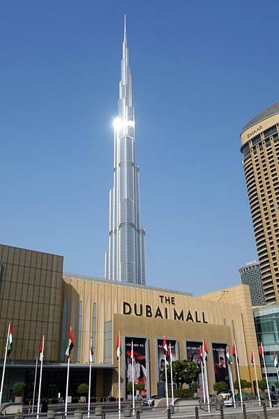 杜拜購物中心 哈里發塔