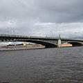 涅瓦河遊船  聖三一橋