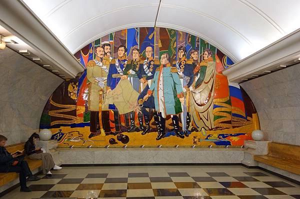 勝利公園站 拿破崙入侵.JPG