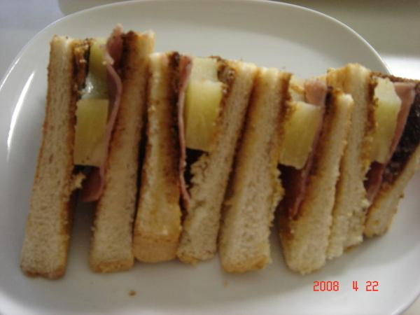 夏威夷三明治