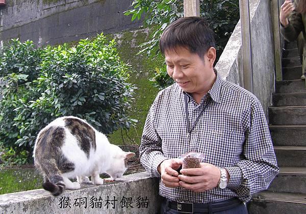愛貓(猴硐貓村餵貓