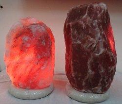 鴿血紅鹽鹽燈與一般鹽燈比較