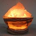 玉石碗聚寶盆鹽燈