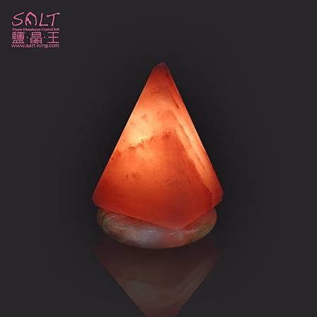 鹽燈(鹽晶燈)USB金字塔造型小鹽燈