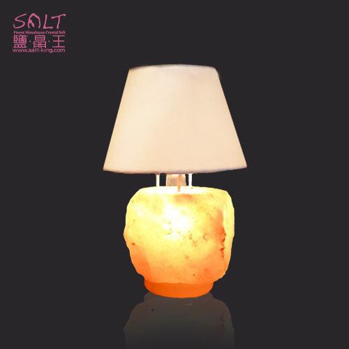 鹽燈(鹽晶燈)玫瑰鹽礦小檯燈