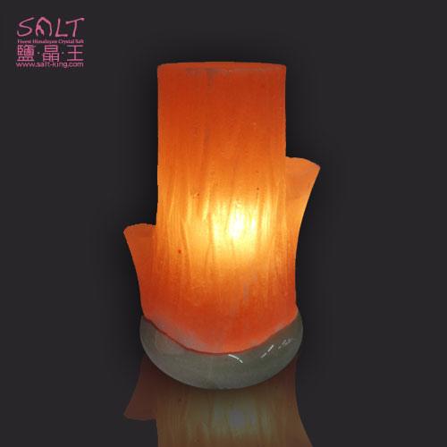 樹幹造型鹽燈