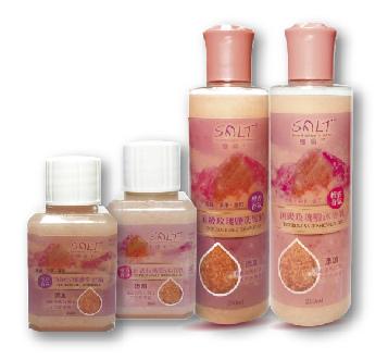 鹽晶王-玫瑰鹽洗髮精沐浴乳