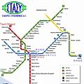 雅典地鐵圖
