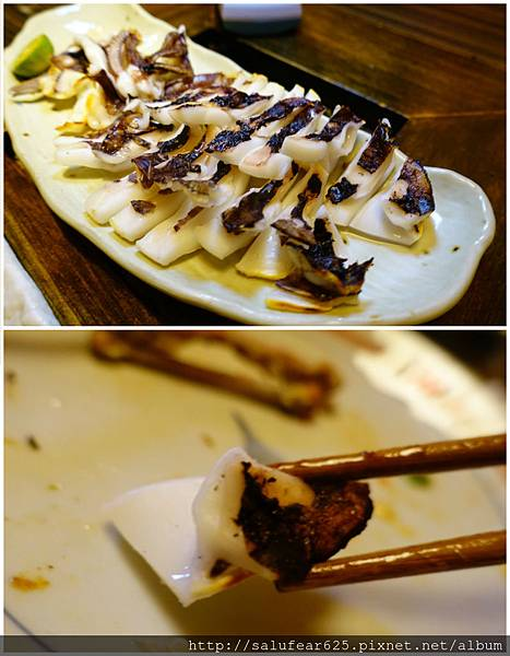 後少女時代 台中南屯 木庵食事處 日式居酒屋 烤軟絲