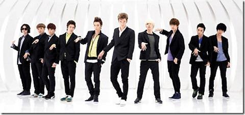 韓團Super Junior人氣夯,但因團員將從軍,存在變數。