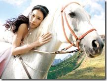 莫文蔚到南非拍攝婚紗照