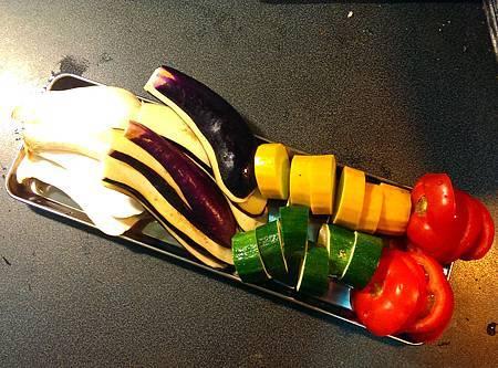 孤身廚房-鑄鐵烤盤烤綜合蔬菜3