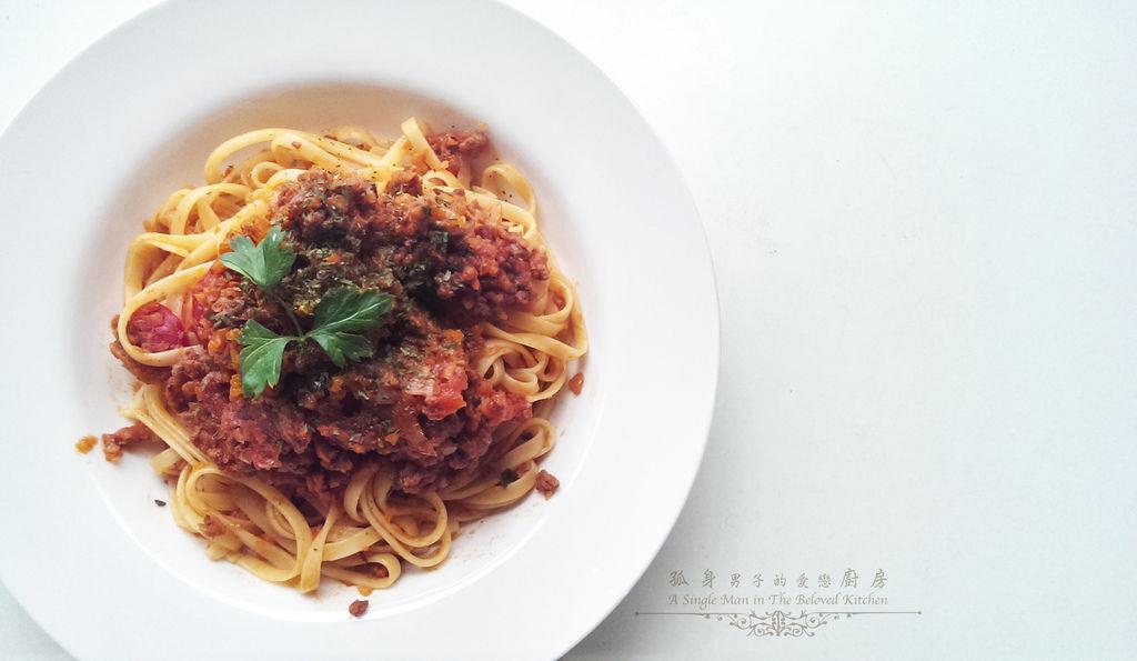 孤身廚房-波隆納紅酒肉醬義大利扁麵26.jpg