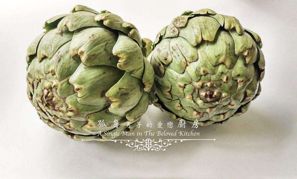 孤身廚房-朝鮮薊[Artichoke]-蔬菜之皇3