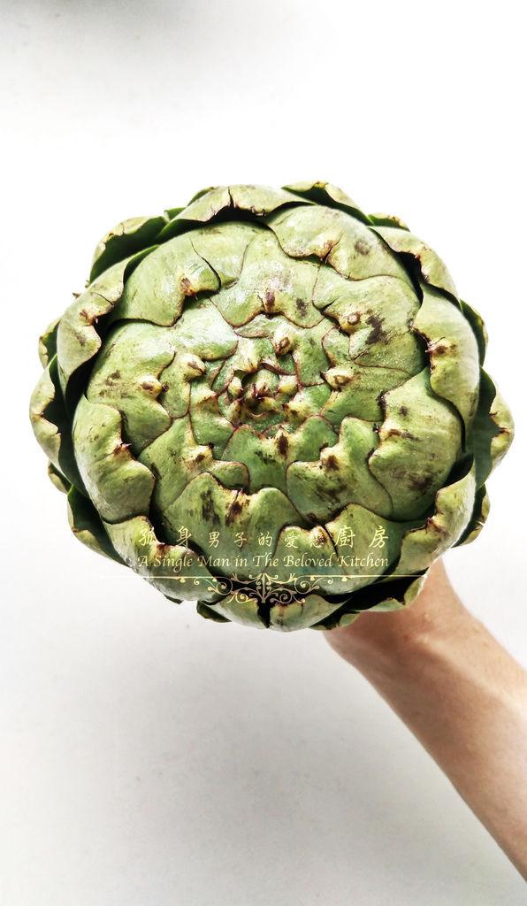 孤身廚房-朝鮮薊[Artichoke]-蔬菜之皇5