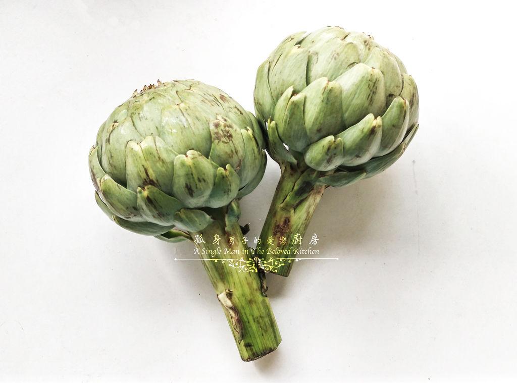 孤身廚房-朝鮮薊[Artichoke]-蔬菜之皇1
