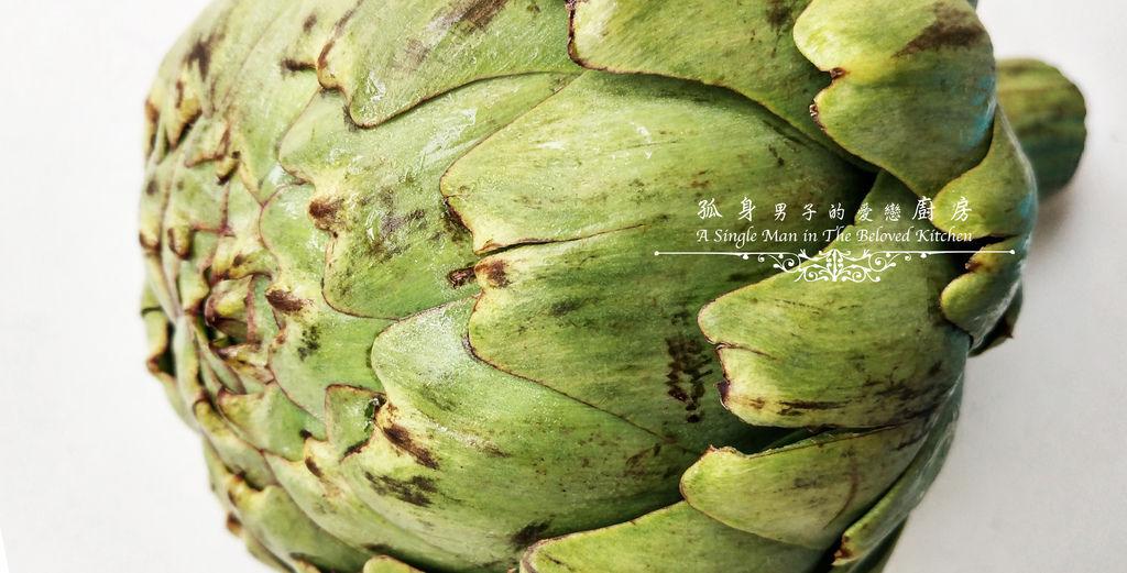 孤身廚房-朝鮮薊[Artichoke]-蔬菜之皇6