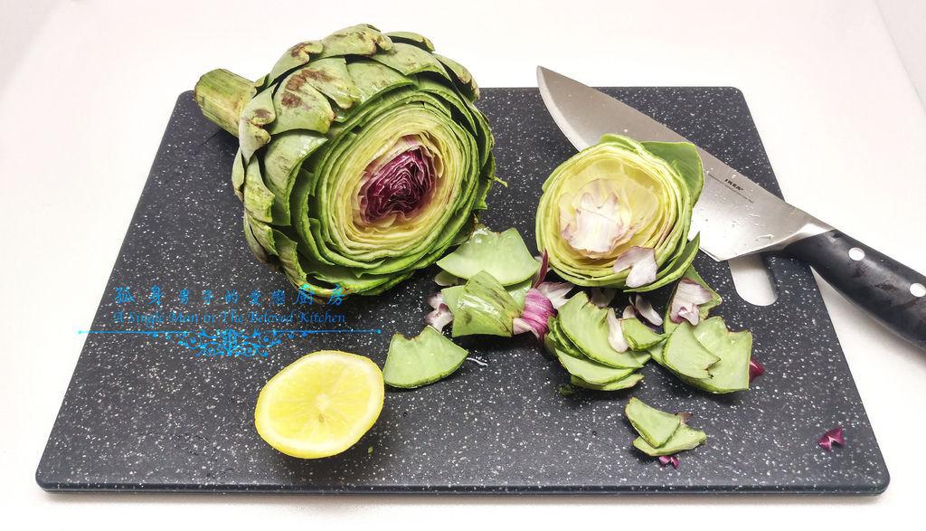 孤身廚房-義式綜合香料橄欖油蒸烤朝鮮薊5.jpg