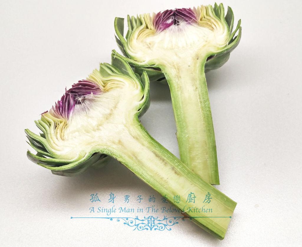 孤身廚房-義式綜合香料橄欖油蒸烤朝鮮薊10.jpg