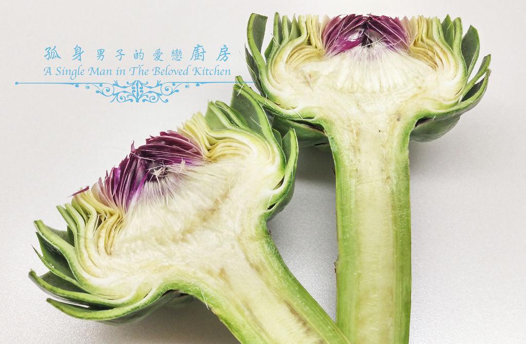 孤身廚房-義式綜合香料橄欖油蒸烤朝鮮薊11.jpg