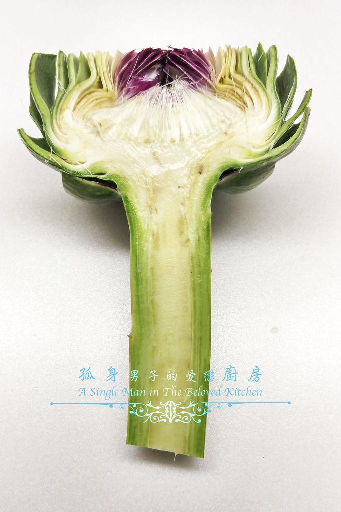 孤身廚房-義式綜合香料橄欖油蒸烤朝鮮薊12.jpg