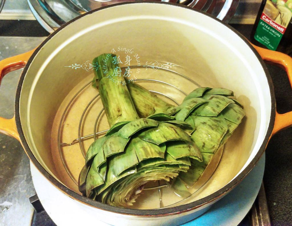 孤身廚房-義式綜合香料橄欖油蒸烤朝鮮薊15.jpg