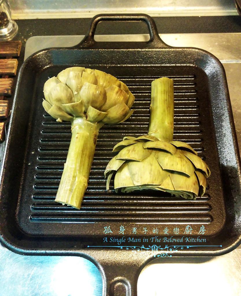 孤身廚房-義式綜合香料橄欖油蒸烤朝鮮薊22.jpg