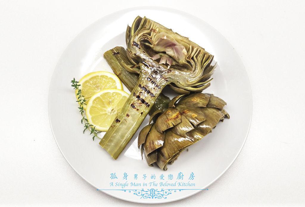 孤身廚房-義式綜合香料橄欖油蒸烤朝鮮薊25.jpg