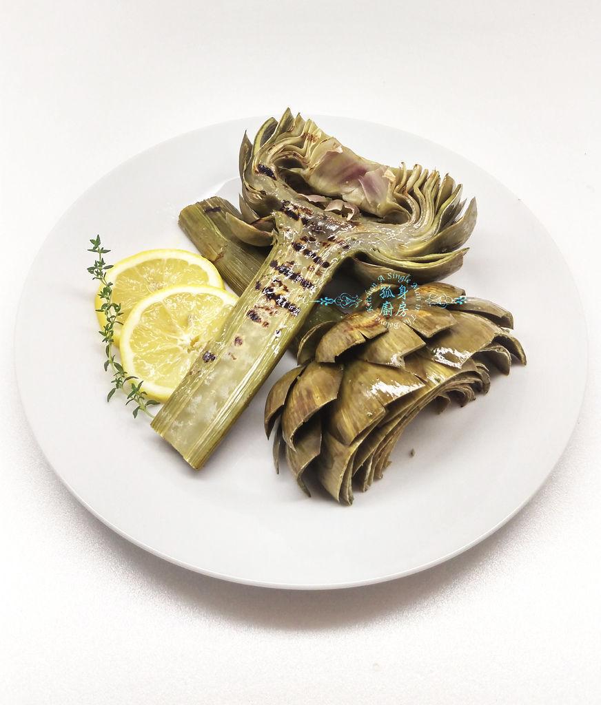 孤身廚房-義式綜合香料橄欖油蒸烤朝鮮薊27.jpg