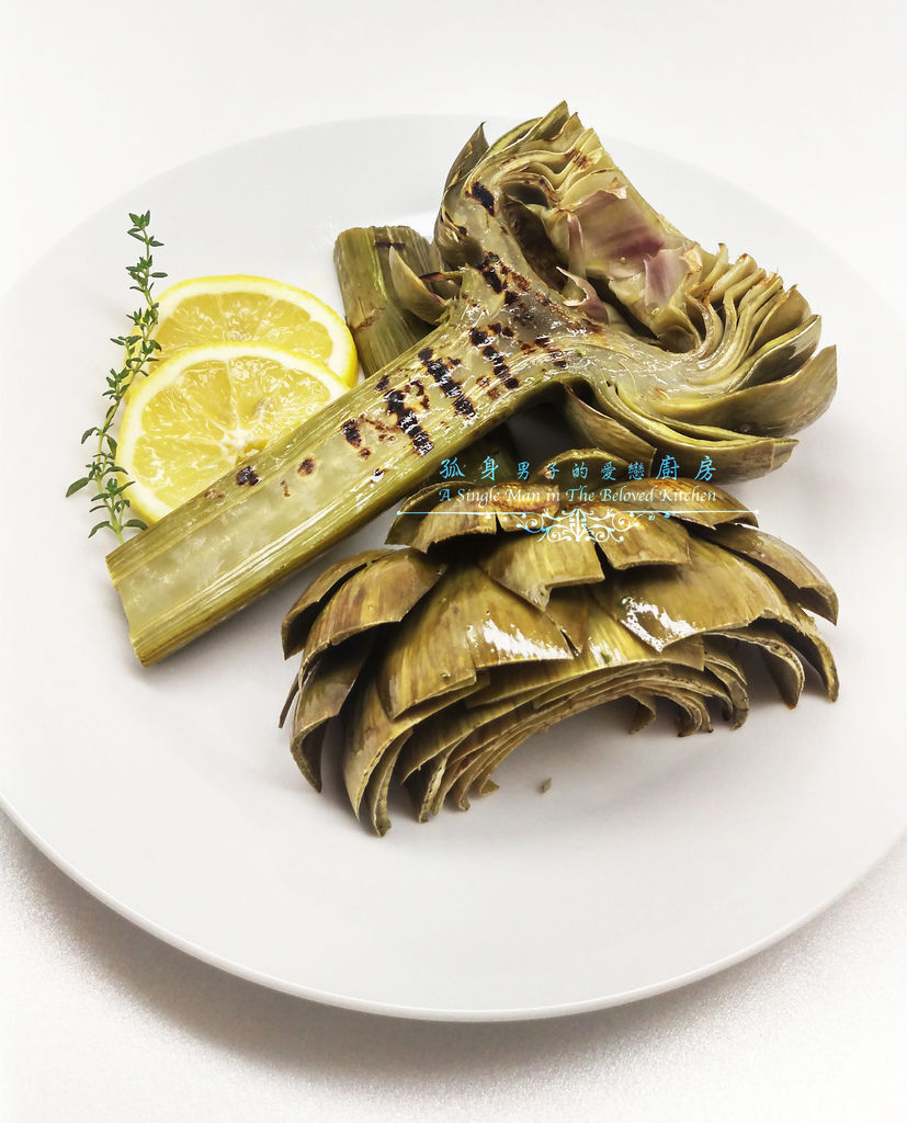 孤身廚房-義式綜合香料橄欖油蒸烤朝鮮薊28.jpg