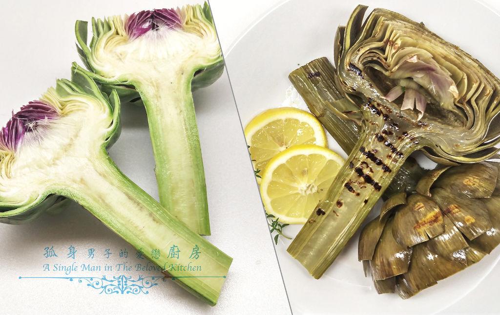 孤身廚房-義式綜合香料橄欖油蒸烤朝鮮薊32.jpg