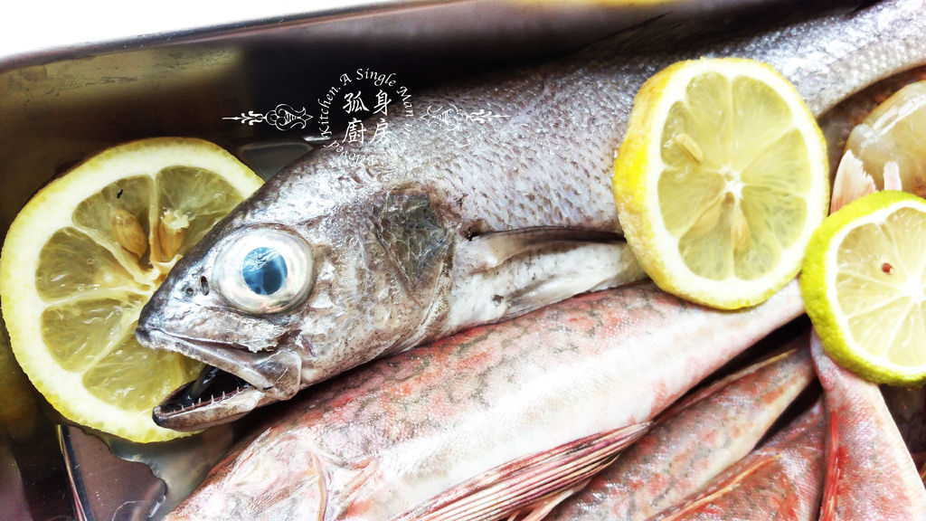 孤身廚房-雞角魚、黑喉、野生紅爐蝦3