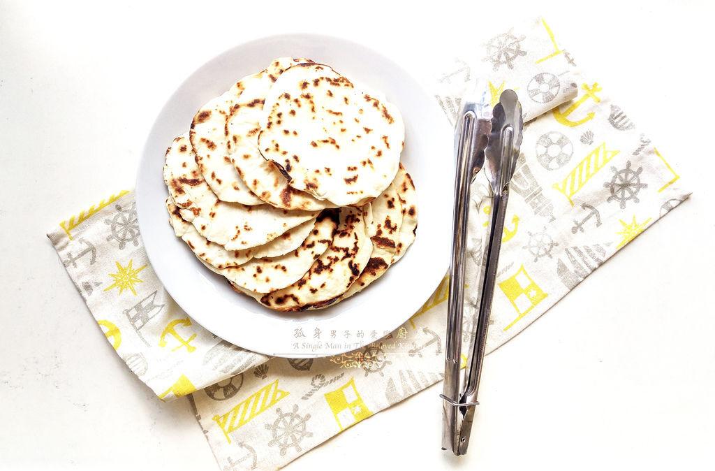 孤身廚房-墨西哥烤紅爐蝦酪梨芒果莎莎醬塔可(上)-自製麵粉版墨西哥薄餅皮Flour Tortilla14