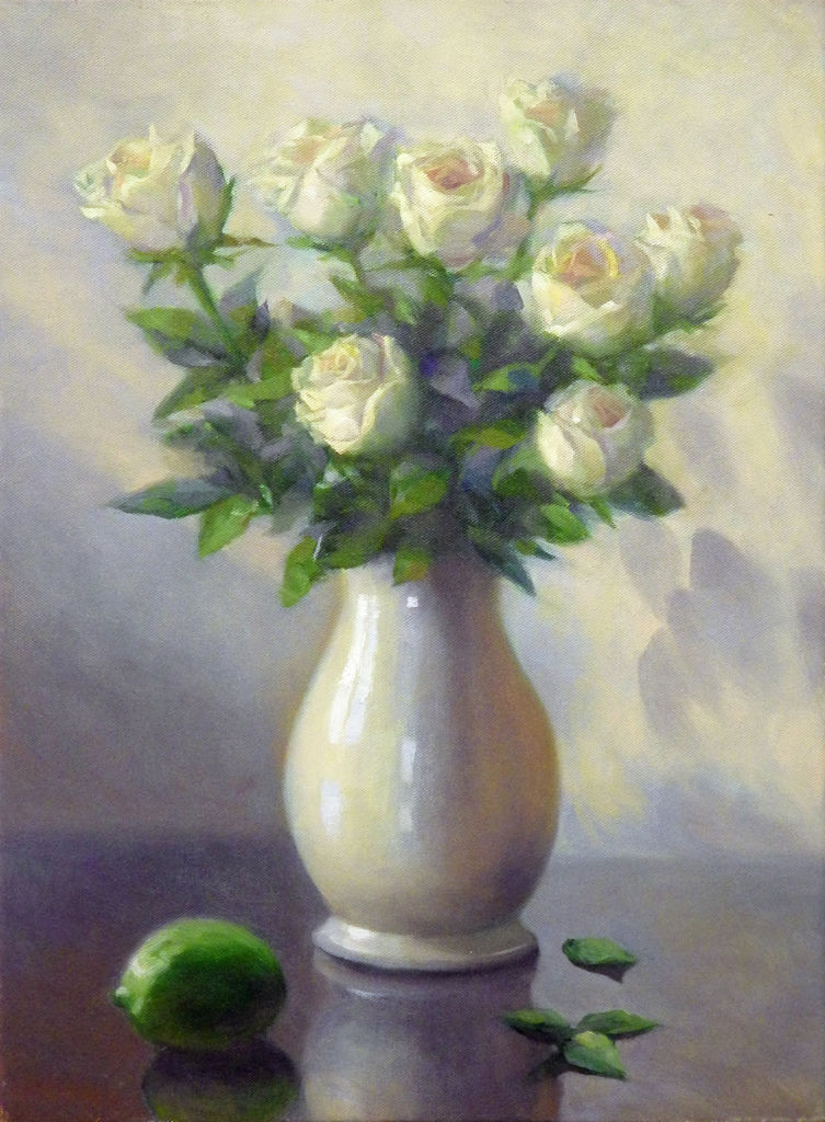 欲言又止的白玫瑰
