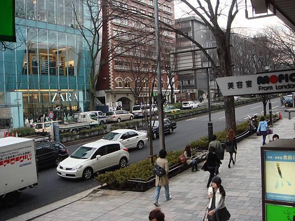 日本的街道真舒服