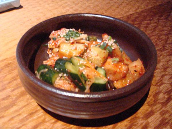 去吃韓國菜