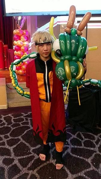 冠軍氣球秀-龍氣球